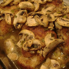 Chicken Breasts in Mushroom Sauce