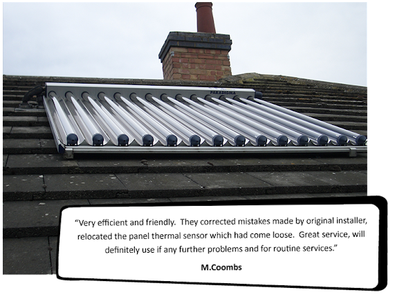 Solar Thermal System | Solar Installers in Licester