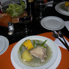 Cazuela- Chilean Chicken Stew