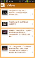 Screenshot of Thiaguinho