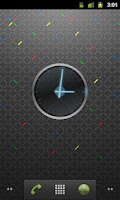 Screenshot of Ice Cream Sandwich Clock
