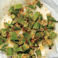 Chili-Lime Fried Okra