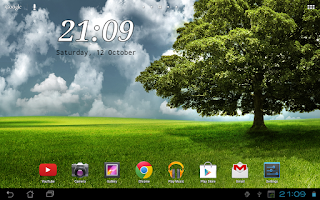 Screenshot of DIGI Clock Widget