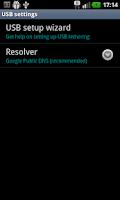 Screenshot of EasyTether Carrier Edition