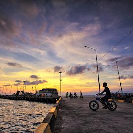 bOY bIKER by Jimmy Papia - Transportation Bicycles ( child, street, people )