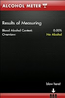 Screenshot of Fun Alcohol Meter