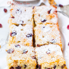Cranberry White Chocolate Chip Bliss Cake