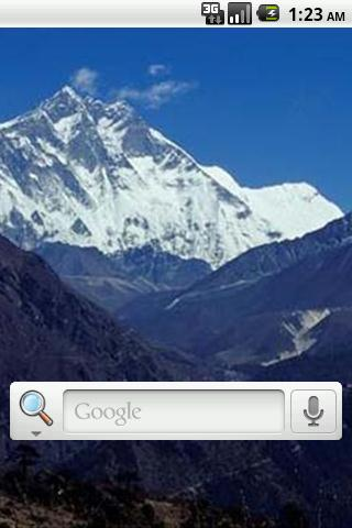 【免費個人化App】Mt. Everest Live Wallpaper-APP點子