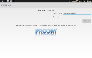 Screenshot of PROOM