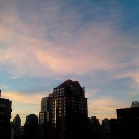 PinkSky. by Victor del Castillo - Instagram & Mobile Instagram ( vancouver, citiesofcanada, city, sky, skyporn )