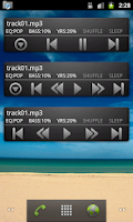 Screenshot of Moty Folder Player