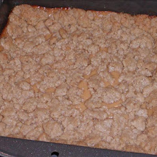 Lemon Oatmeal Crumble Square