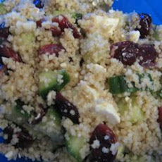 Couscous, Cranberry, and  Feta Salad