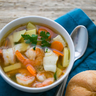 Shrimp and Fish Soup (Ukha)
