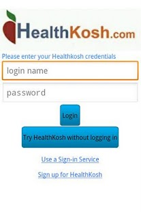 HealthKosh Application for Mob - screenshot