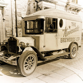 Delivering the Ale by Dave Smith - Transportation Automobiles ( beamish, vintage, classic )
