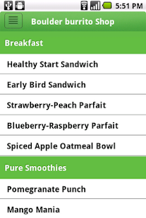 Fresh Healthy Cafe - screenshot