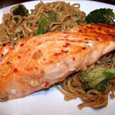 Sweet Sambal Salmon Fillets