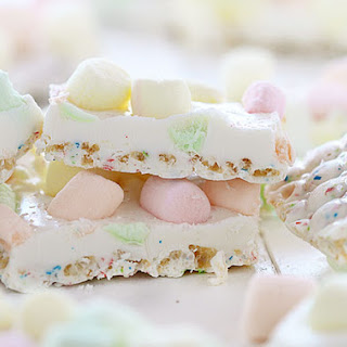 White Chocolate Marshmallow Bark