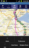 Screenshot of Garden State Parkway 2014