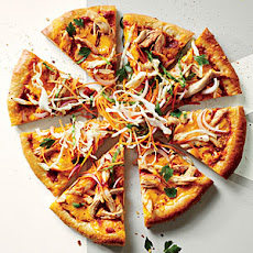 BBQ Pizza with Slaw