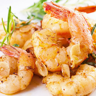 Garlic Grilled Prawns