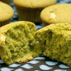 Green Tea and White Chocolate Muffins