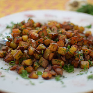 Garlic and Dill Red Potatoes