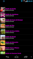 Screenshot of Dietas Saludables
