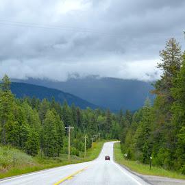 Traveling Through Alberta by Kathleen Koehlmoos - Landscapes Travel ( beautiful alberta highways, gorgeous canadian scenery, alberta, beautiful alberta, scenic route )