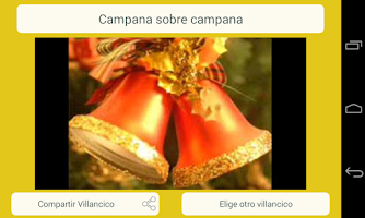 Screenshot of Christmas Carols Spanish