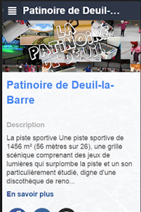 Patinoire de Deuil-La Barre - screenshot