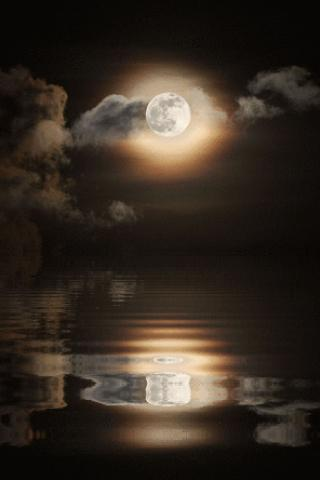 Full Moonlight Live Wallpaper