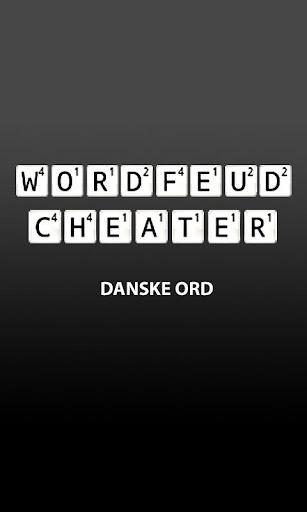 【免費解謎App】Wordfeud Cheater - Danske Ord-APP點子