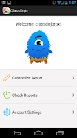Screenshot of ClassDojo for Students