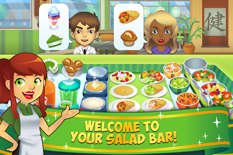 Game my salad bar healthy food shop manager apk for for Food bar games free online