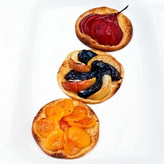 Apricot Galettes with Amaretto