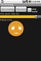 Screenshot of Fun Recording