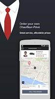 Screenshot of Chauffeur-Privé