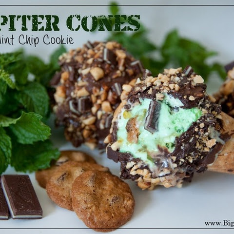 Jupiter Cone Mint Chip Cookie