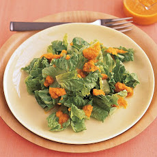 Salad with Carrot-Ginger Dressing