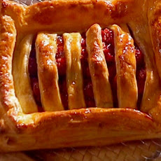 Stacked Puff Pastry with Cherries