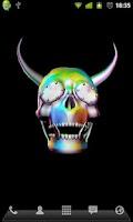 Screenshot of 3D Skulls Live Wallpaper