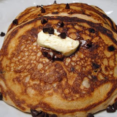 Chocolate Chip Sour Cream Pancakes, Diabetic