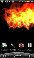 Screenshot of VA Fire Magic Wallpaper