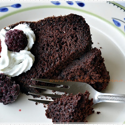 Chocolate and Dark Beer Bundt Cake