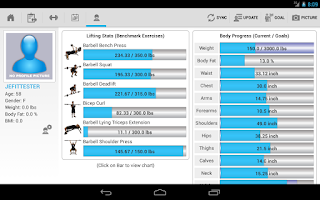Screenshot of JEFIT PRO HD Workout & Fitness