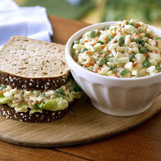 Crunchy Veggie Ranch Egg Salad