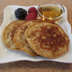 Whole Wheat Oat Pancakes