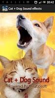 Screenshot of Cat + Dog Sound effects